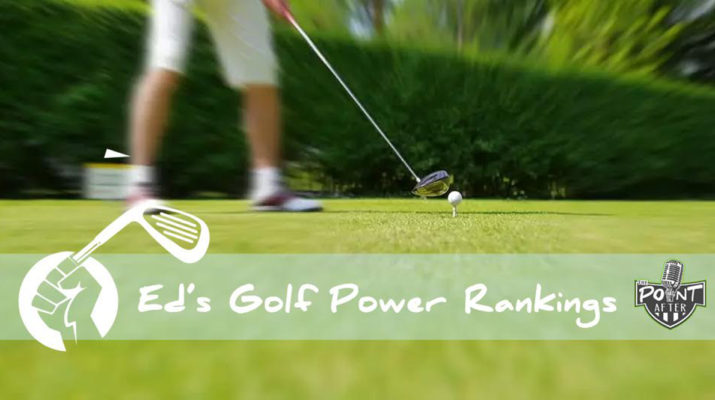 Golf Power Rankings