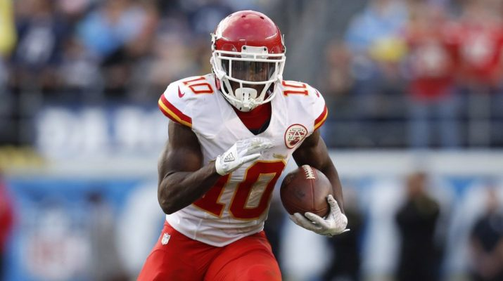 new product c0b87 338ea Tyreek Hill Autographed Jersey Contest Rules - The Point ...
